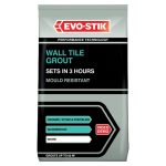 Evo-Stik 478718 Tile A Wall Fast Set Grout White 1.5kg