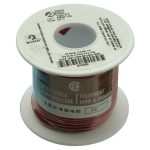 Alpha Wire 3053 RD005 UL1007 Hook Up Wire Red 20AWG (30.5m Reel)