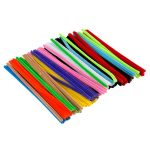 RVFM Coloured Pipe Cleaners 15cm – Pack of 100