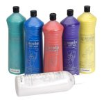 Scola PAM600/6/A Ready-mix Paint Pearlescent 600ml 6 Assorted