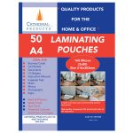 Cathedral Products A416050 A4 Laminating Pouches 160 micron Pack 50