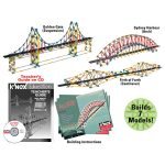 K'Nex 78680 Education Real Bridge Building Set