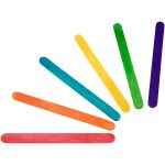 RVFM Coloured Lollypop Sticks Small- Pack of 250