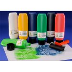 Scola BPW300/6/A Block / Lino Printing Ink Pack of 6x 300ml Assort…