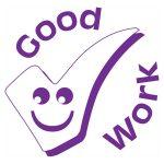 Xstamper Xclamation Good Work Motivation Stamp