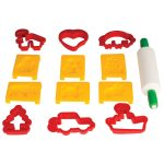 Colourcraft Plastic Cutters and Roller – Pack of 12