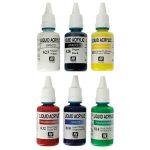 Spraycraft SP1601 6 x 32ml Acrylic Paint Set