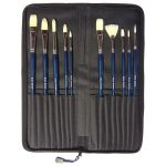 Major Brushes Oil Painting Brush, Artist's Choice Superior (Set of 10)