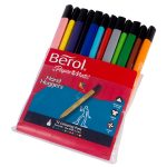 Berol Handhugger Colouring Pens Pack of 12