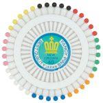 RVFM Rosette Pins Pack of 40
