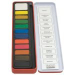 Major Brushes Watercolour Painting Tin – 12 Block