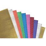RVFM Corrugated Paper Metallic – Pack of 10