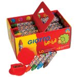 Giotto Large Wax Crayons – Pack of 40