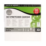 Daler Rowney 3d Stretched Canvas 20x20x4cm