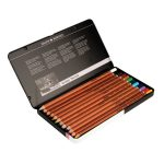 Daler Rowney Pastel Pencils Tin of 12