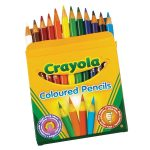 Crayola Coloured Pencils – Pack of 12