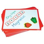 Ed Tech A4 Magnetic Multiboard – Pack of 5
