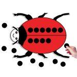 Ed Tech Giant Ladybird + 20 Spots 385mm x 290mm