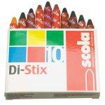 Scola DX10 Di Stix Fabric Crayons