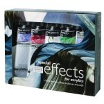 Daler Rowney Acrylic Mediums Special Effects Assorted Pack 5 x 75ml
