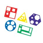 Learning Resources Shapes Template Sets Pack 5