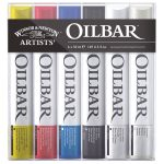 Winsor and Newton Artists Oilbar – Original Colour Set of 6 x 50ml