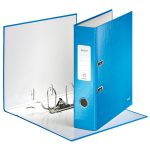 Leitz Blue Lever Arch File Laminated WOW 180 degree A4 80mm
