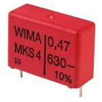 Wima MKS4J034705G00KS 470nF (+-)10% 630V 22.5mm Pitch Polyester Capacitor