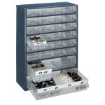 Raaco 137492 900 Series 928-123 Cabinet 28 Mixed Drawers