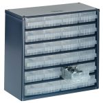 Raaco 137546 600 Series 624-01 Cabinet 24 Drawers