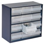 Raaco 137553 600 Series 612-02 Cabinet 12 Drawers