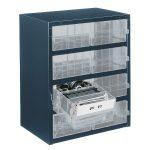 Raaco 137584 8-2 8 Drawer 250 Series Storage Cabinet