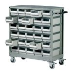 Topdrawer 30 Drawer Small Parts Trolley