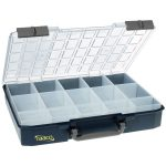 Raaco 136310 CarryLite 80 5×10-15 Compartment Case