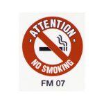 Beaverswood Floor Marker 430mm dia. No Smoking