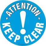 Beaverswood Floor Marker 430mm dia. Keep Clear