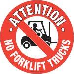 Beaverswood Floor Marker 430mm dia. No Forklift Trucks