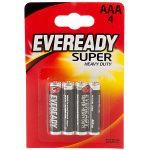 Eveready 1212BP-4 AAA batteries – Zinc Carbon Super – Pack of 4