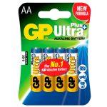 GP GPPCA15UP005 Ultra AA Batteries Pack of 4
