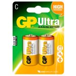 GP GPPCA14AU004 Ultra Batteries C Pack of 2