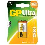 GP GPPVA9VAU028 Ultra PP3 Battery