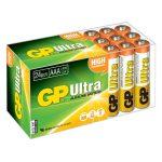 GP GPPCA24AU003 Ultra Alkaline AAA Batteries Pack of 24