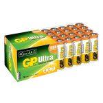 GP GPPCA15AU007 Ultra Alkaline AA Batteries Pack 40