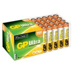 GP GPPCA24AU005 Ultra Alkaline AAA Batteries Pack 40