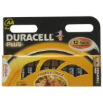 Duracell Plus MN1500BK12 AA Batteries – Pack of 12