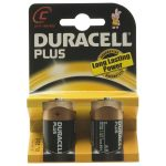Duracell Plus 5000394019089 MN1400B C Batteries (Pack of 2)