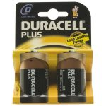 Duracell Plus 5000394019171 MN1300B D Batteries (Pack of 2)