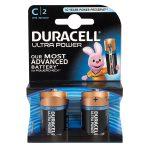 Duracell Ultra 5000394002852 MX1400K2 C Alkaline Batteries (Pack of 2)