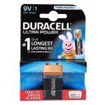 Duracell Ultra 5000394002951 MX1604 PP3 9V Alkaline Battery