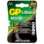 Pack of 2 GP Lithium AA Battery 1.5V GPPCL15LF000